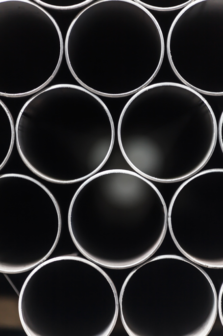 endustriyel metal boru fotograf çekimi