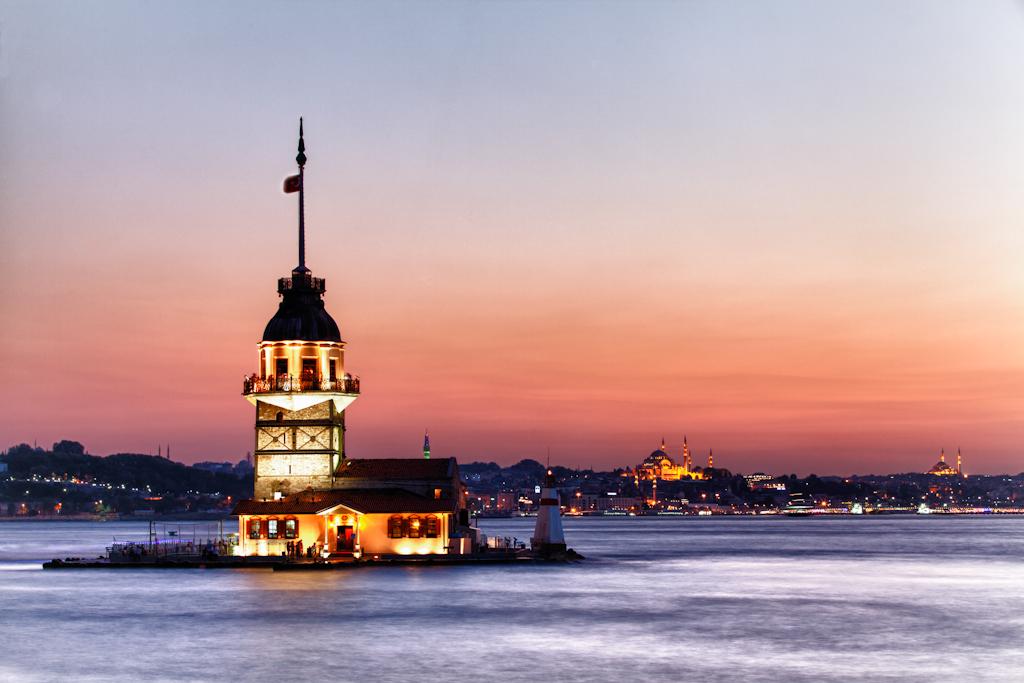 istanbulda günbatımı